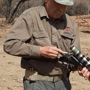 Hunting Cape Buffalo