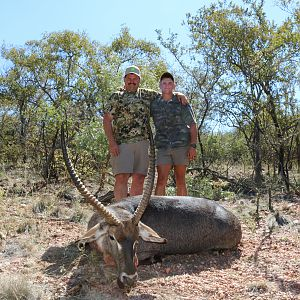 Hunting Waterbuck in South Africa