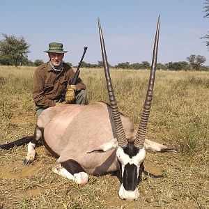 Oryx/Gemsbuck at Sandveld Nature Reserve