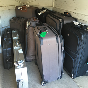 A lot of luggage