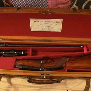 Cogswell & Harrison .375 Rifle