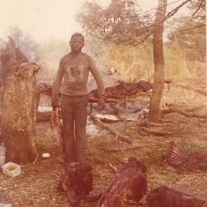Republic of Upper Volta Hunting Roan 1974
