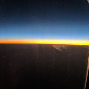 My first view of Africa