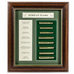 African Game Medium Cartridge Board from African Sporting Creations
