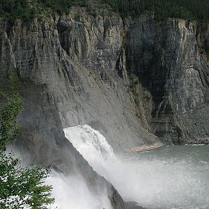 Nahanni river and Virginia Falls Canada