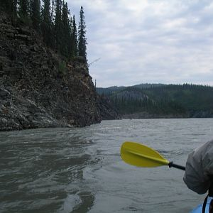 Trip from Virginia Falls to Nahanni Butte Canada