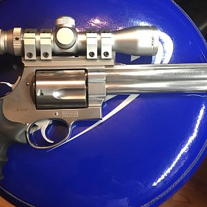 Smith & Wesson X-Frame 460XVR Large bore five-shot Revolver