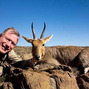 South Africa Hunt Mountain Reedbuck