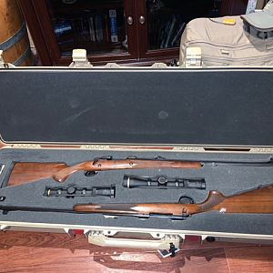 .35 Whelen Rifle & .416 Remington Magnum Rifle