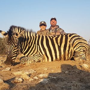 Burchell's Plain Zebra Bow Hunt South Africa