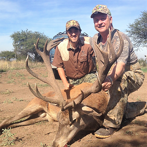 Red Stag Hunt Argentina