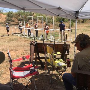 Texas USA Clay Pigeon Shooting