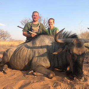 Hunt Blue Wildebeest in South Africa