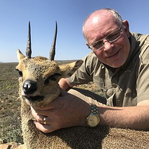 South Africa Hunt Klipspringer