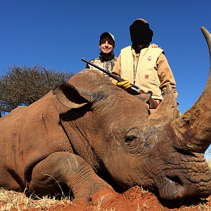White Rhino Hunt South Africa