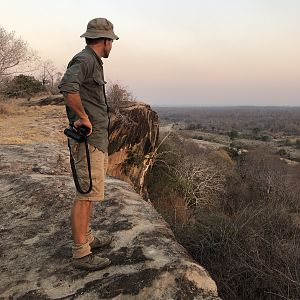 Looking out over the valley in Zimbabwe