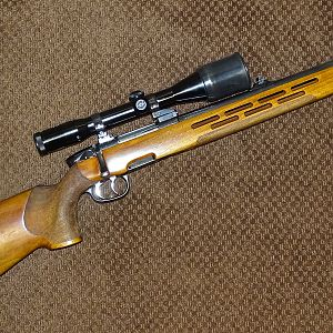 Steyr-Mannlicher Rifle in .358 Winchester