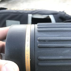 12-40 x60 Leupold Spotting Scope