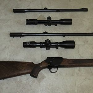 Blaser Rifle Set