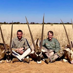 Hunting Gemsbok Slam in South Africa