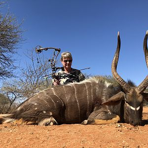 Nyala Bow Hunt South Africa