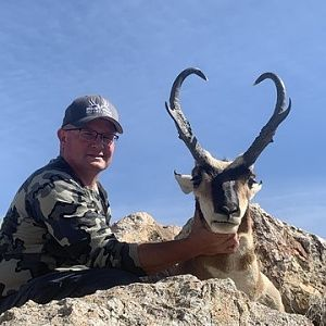 Hunting Pronghorn in Nevada USA
