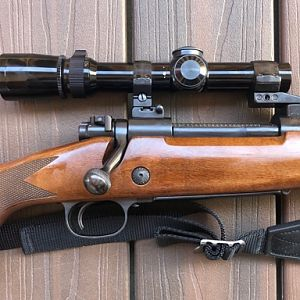 Winchester 70 Rifle in .375 H&H