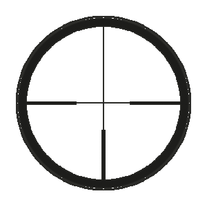 Leica reticle 4a LRS without illuminated dot (ER)