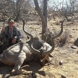Namibia Hunting Greater Kudu