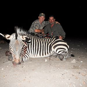 Hartmann's Mountain Zebra Bow Hunting