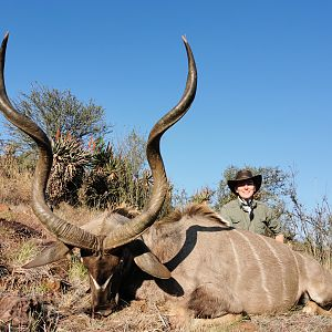 Hunt Kudu in South Africa