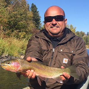 Rainbow Trout Fly Fishing Montana & Idaho USA