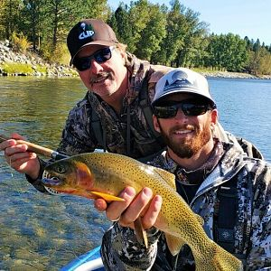 Montana & Idaho USA Fly Fishing Brown Trout