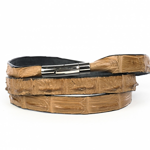Crocodile Leather Wrap Around Bracelet from African Sporting Creations