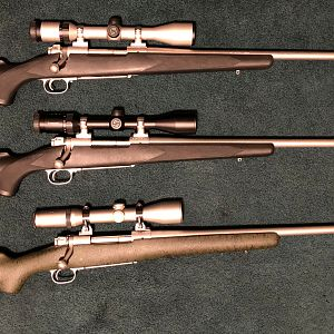 Winchester 70 Stainless Classic in 7 mm Rem Mag & Winchester 70 Stainless Classic in .300 Wby