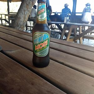 Local Beer from Zambia