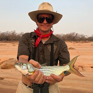 Fishing Tigerfish on Lake Kariba Zimbabwe