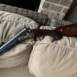 Rigby Double Rifle in 9.3x74r