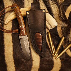 Safari Style Knife & Sheath