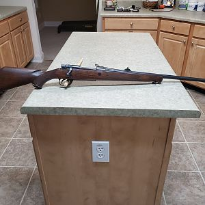 Parker Hale 404 Jeffrey Rifle
