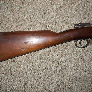 Spandau 11 mm 71/84 Mauser Model Rifle