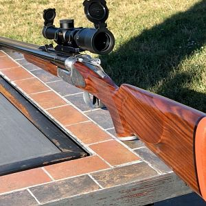 2019 Sabatti Big Five EDL in 470NE Double Rifle