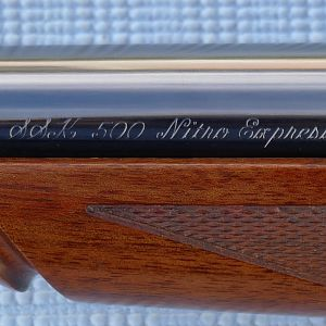 Ruger no1 Rifle in 500 Nitro