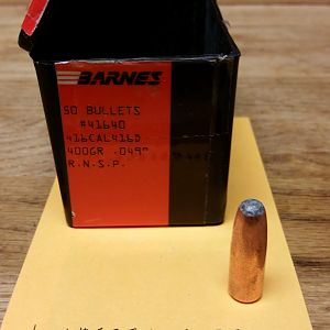 Big Bore Hunting Bullets