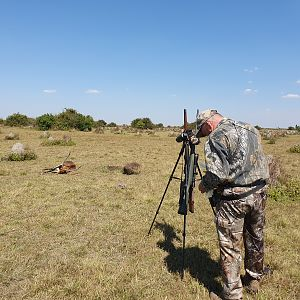 Hunting Black Lechwe in Bangweulu Wetlands Zambia