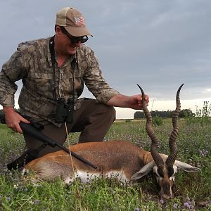 Hunting Blackbuck in Argentina