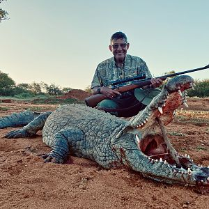 Hunt Crocodile in South Africa