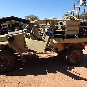 Hunting vehicle Namibia