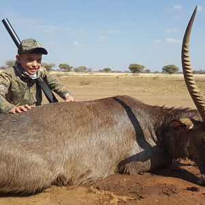 Hunt Waterbuck in South Africa