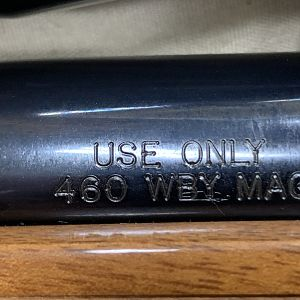 460 Weatherby Magnum Rifle